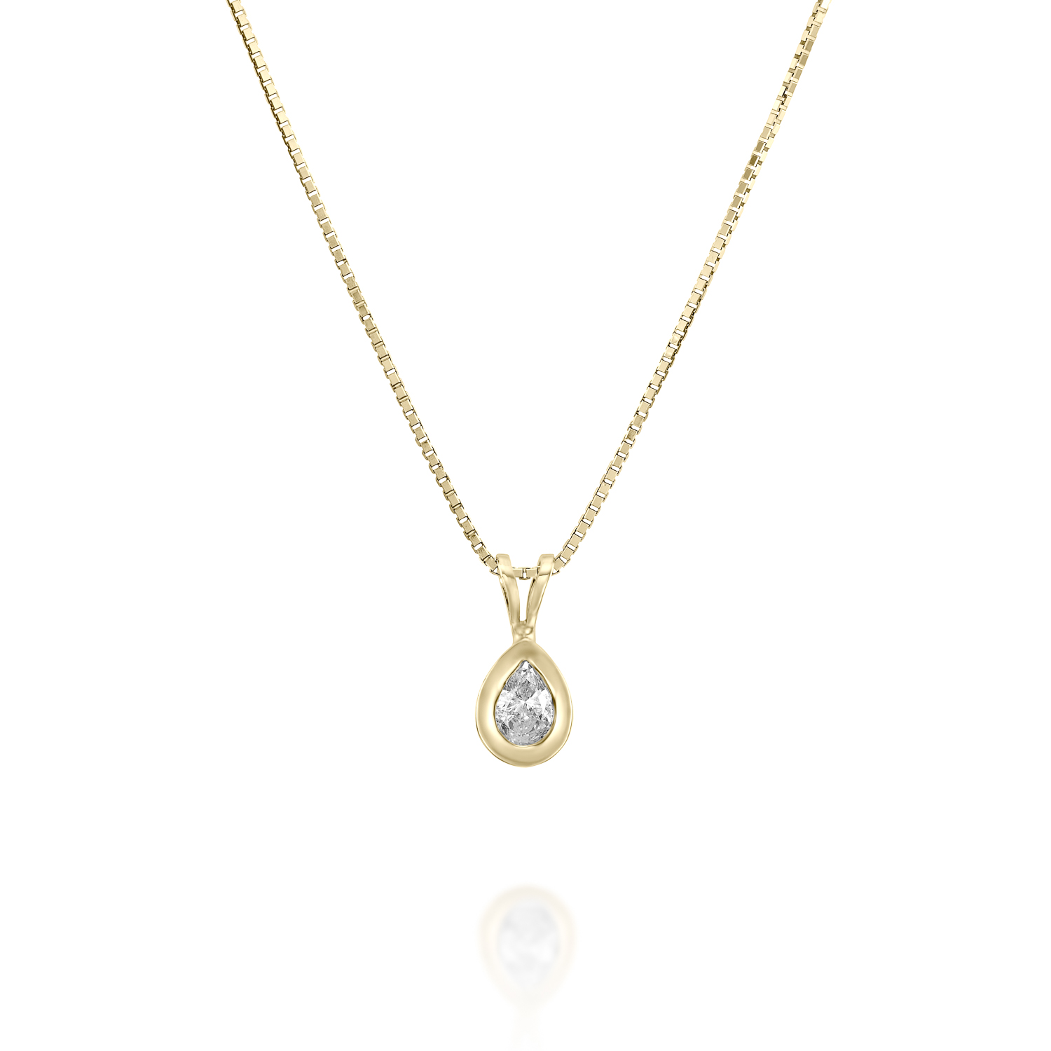shaped pear halo with diamond pendant double