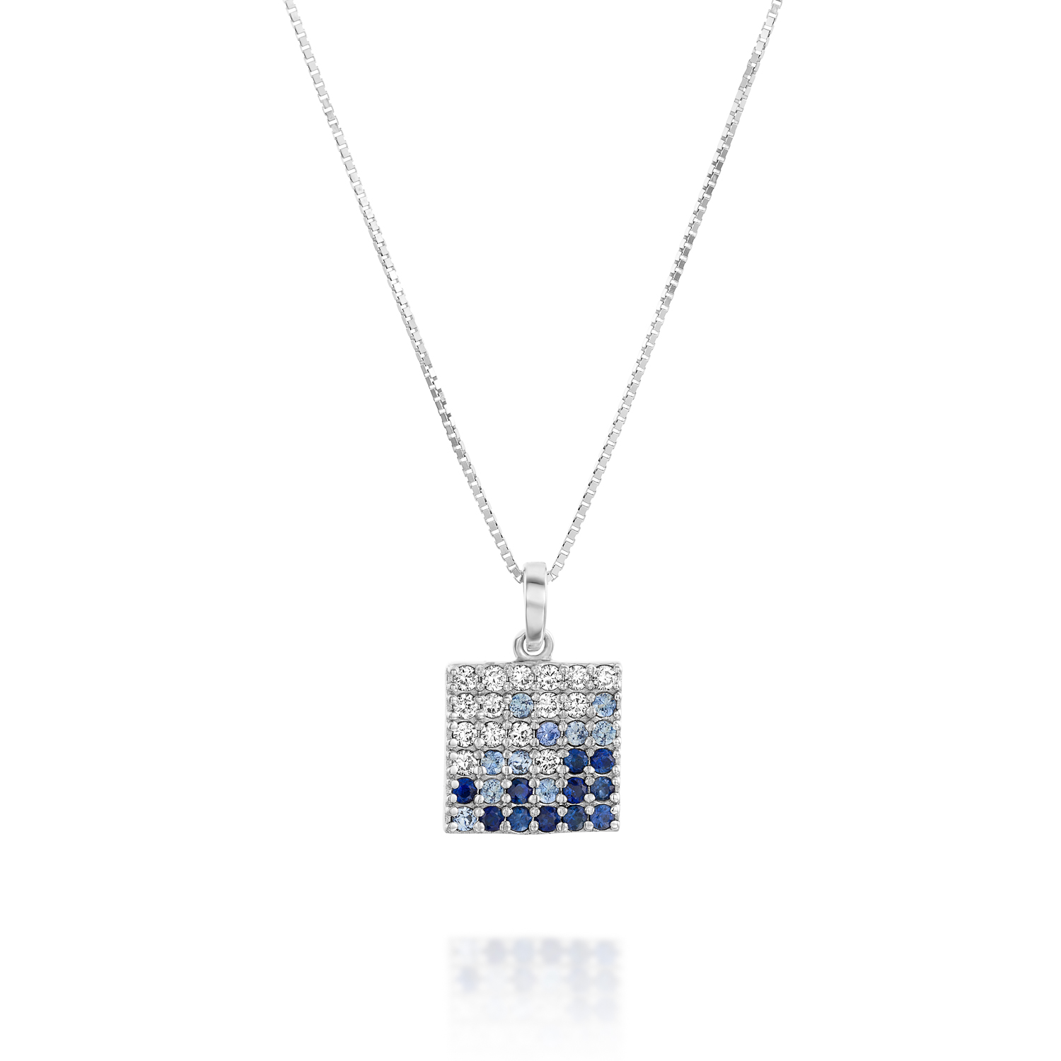 in sapphire vian with le diamonds gold cornflower tw ceylon necklace vanilla