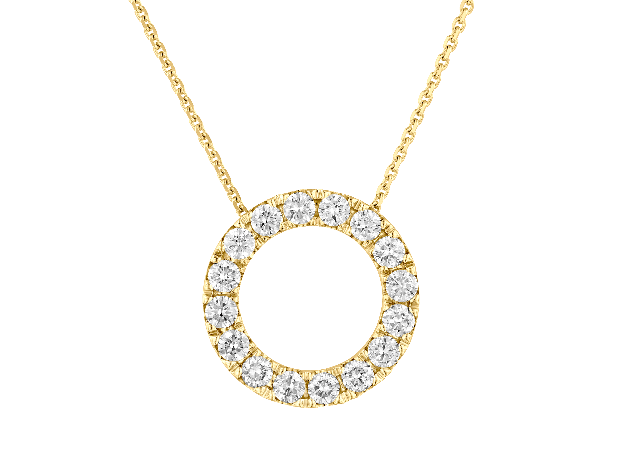 Diamond Necklaces 4x3