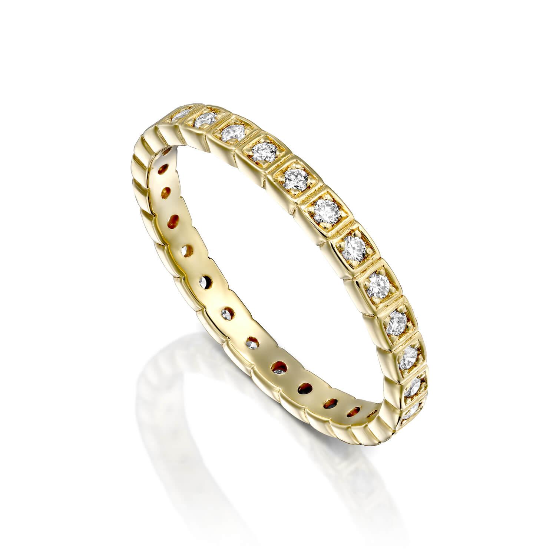 טבעת יהלומים איטרניטי קוביות ADR-00292-1