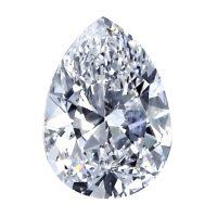 יהלום טיפה - pear diamond